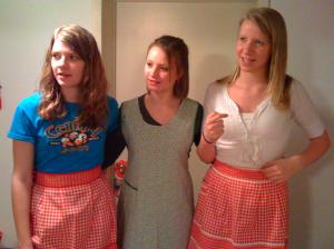 Ruthie, Rachel and Rebekah