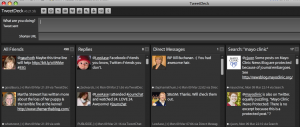 Multiple Panes in Tweetdeck