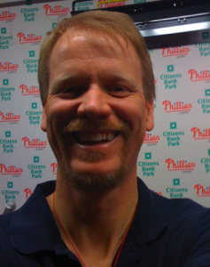 Me, in the Phillies' media room