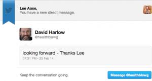 David Harlow DM