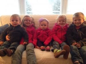 Graham, Evelyn, Mabel, Aletta and Judah