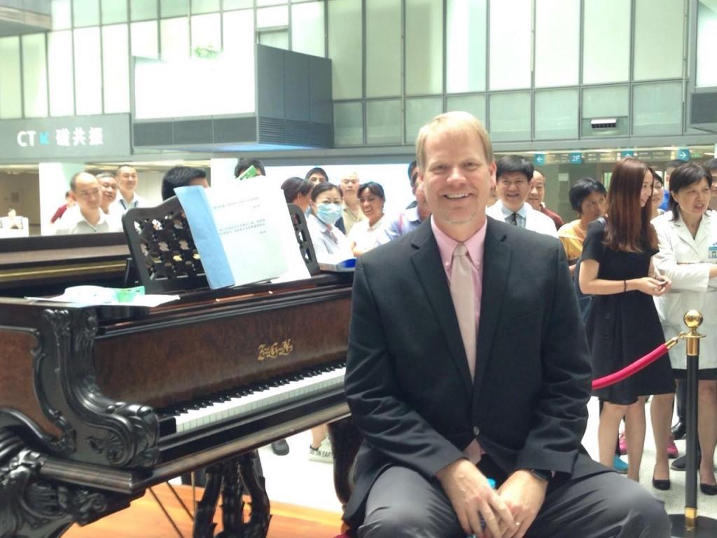 Lee at Piano