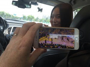 Stephanie and NBA Finals