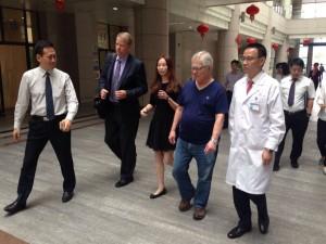 Walking Tour of Hospital