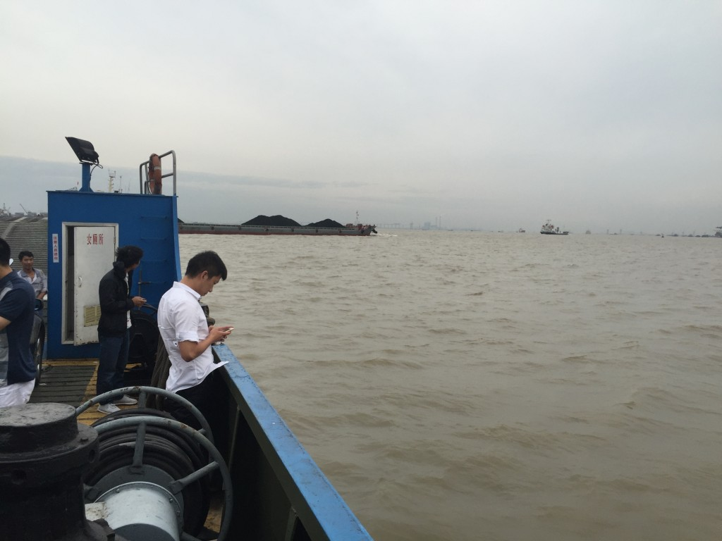 Yangtze river ferry