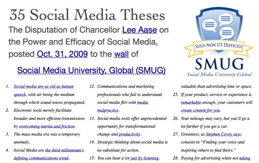 The Mayo Clinic Social Media Network (MCSMN) Story